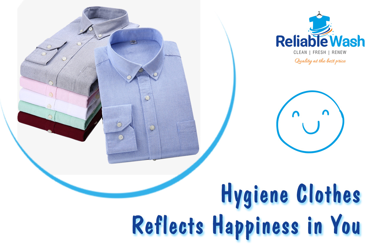 hygiene clothes Reliable Wash Laundry services Hyge
